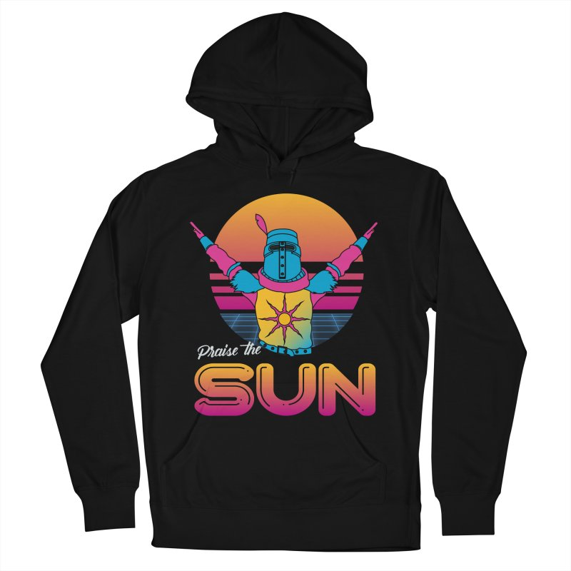 Praise the sun Men's French Terry Pullover Hoody by marpeach's Artist Shop
