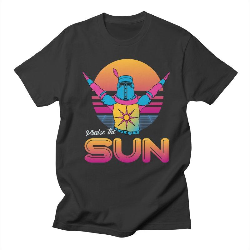 Praise the sun Men's Regular T-Shirt by marpeach's Artist Shop