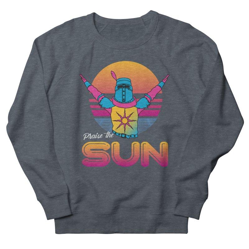 Praise the sun Men's French Terry Sweatshirt by marpeach's Artist Shop