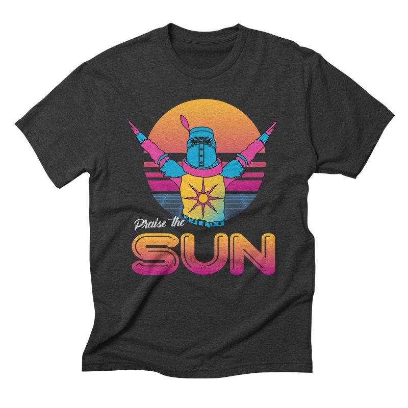 Praise the sun Men's Triblend T-Shirt by marpeach's Artist Shop