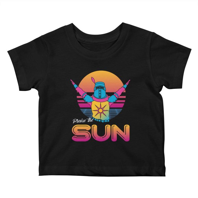 Praise the sun Kids Baby T-Shirt by marpeach's Artist Shop