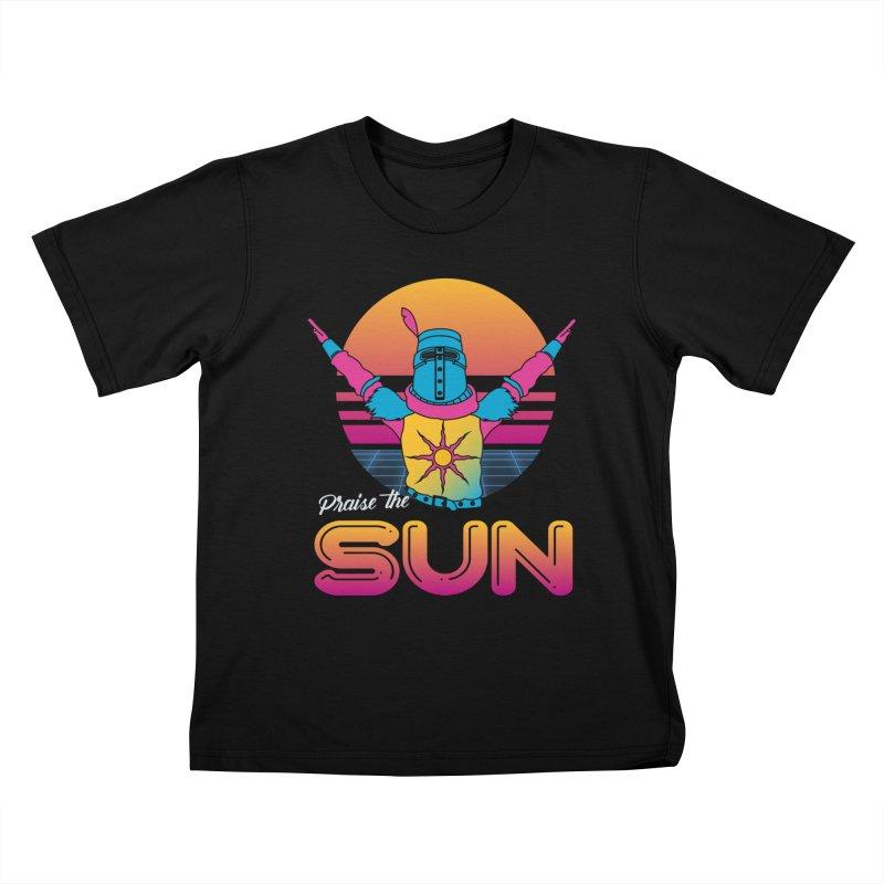 Praise the sun Kids T-Shirt by marpeach's Artist Shop