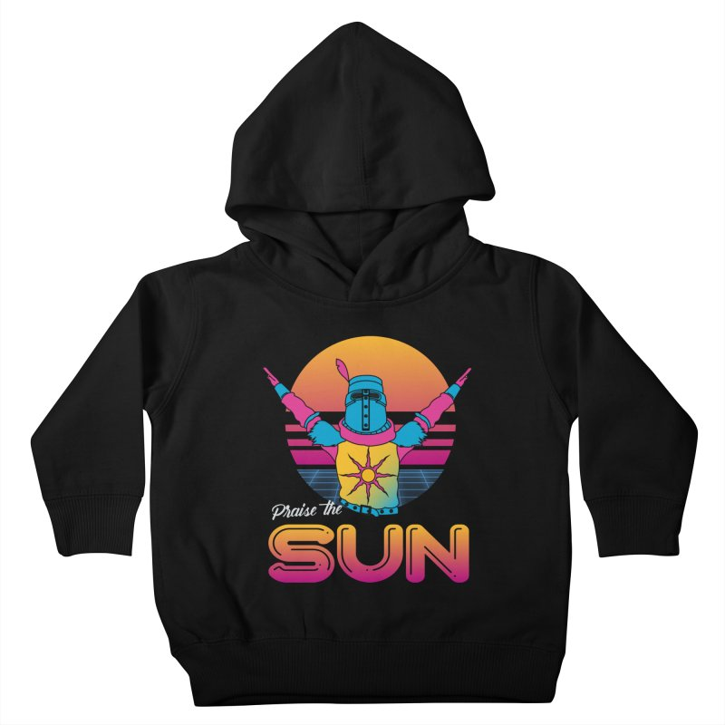 Praise the sun Kids Toddler Pullover Hoody by marpeach's Artist Shop