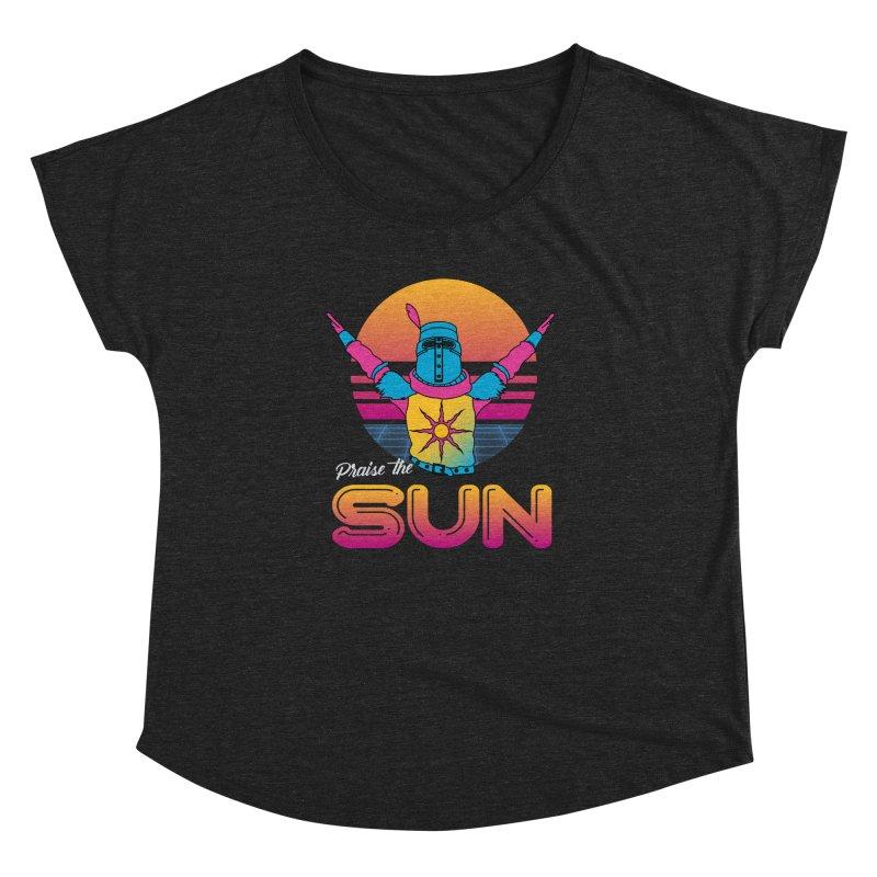 Praise the sun Women's Dolman Scoop Neck by marpeach's Artist Shop