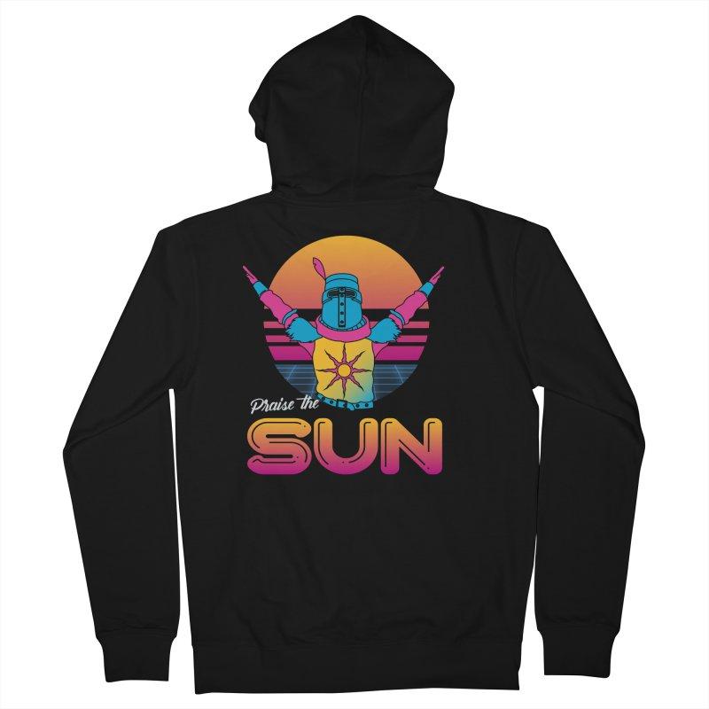 Praise the sun Women's Zip-Up Hoody by marpeach's Artist Shop