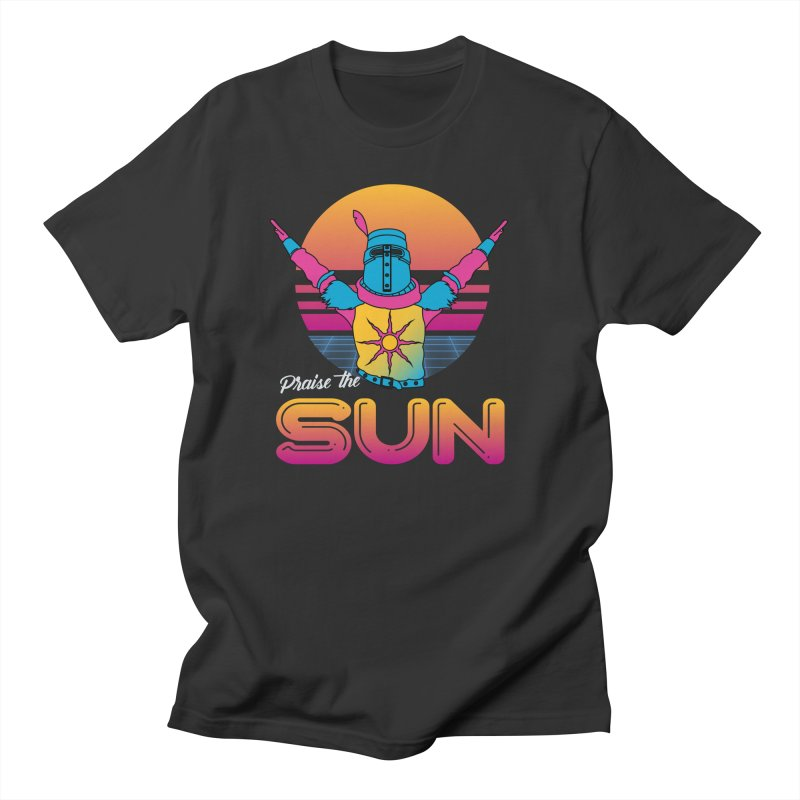 Praise the sun Men's T-Shirt by marpeach's Artist Shop