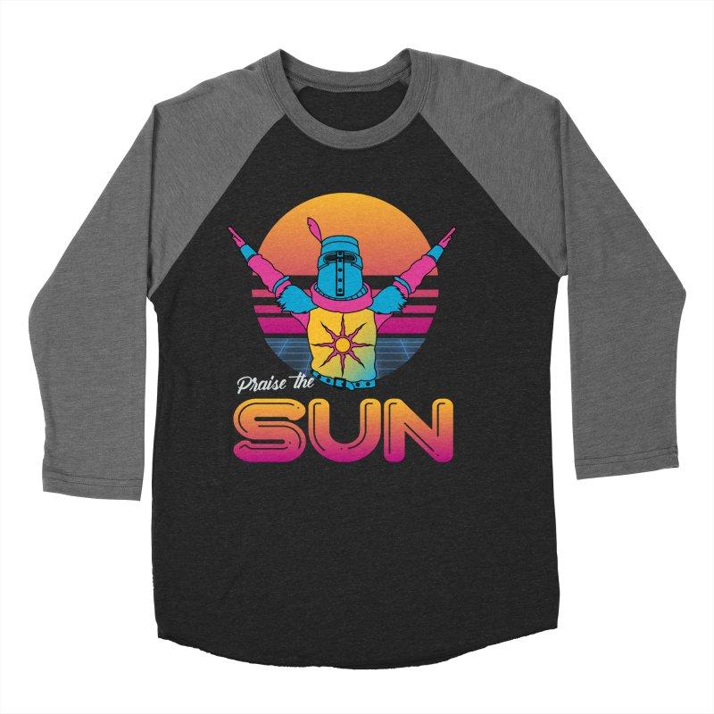 Praise the sun Men's Baseball Triblend Longsleeve T-Shirt by marpeach's Artist Shop