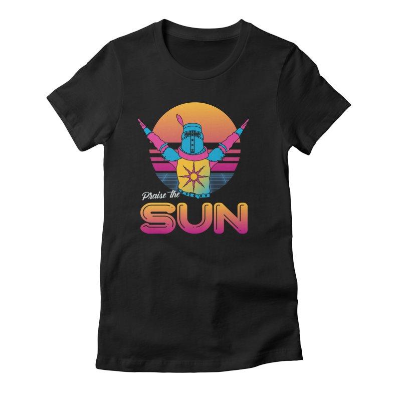 Praise the sun Women's T-Shirt by marpeach's Artist Shop