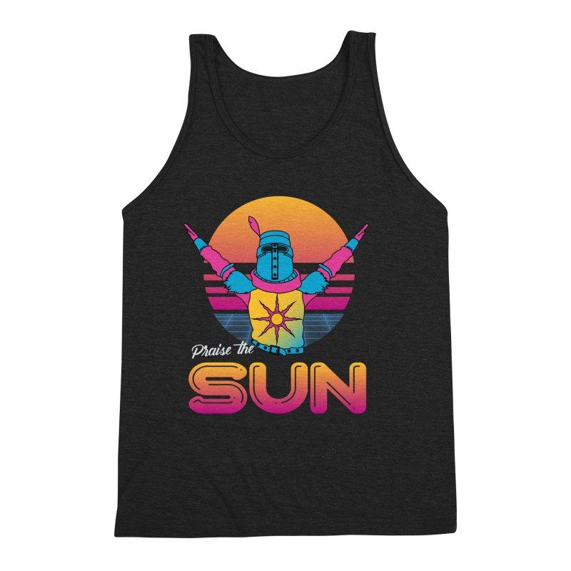 Praise the sun Men's Tank by marpeach's Artist Shop