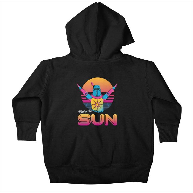 Praise the sun Kids Baby Zip-Up Hoody by marpeach's Artist Shop