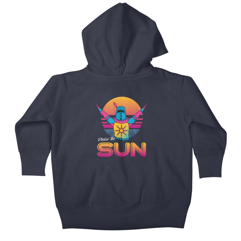 Praise the sun Kids Baby Zip-Up Hoody by marpeach's Artist Shop