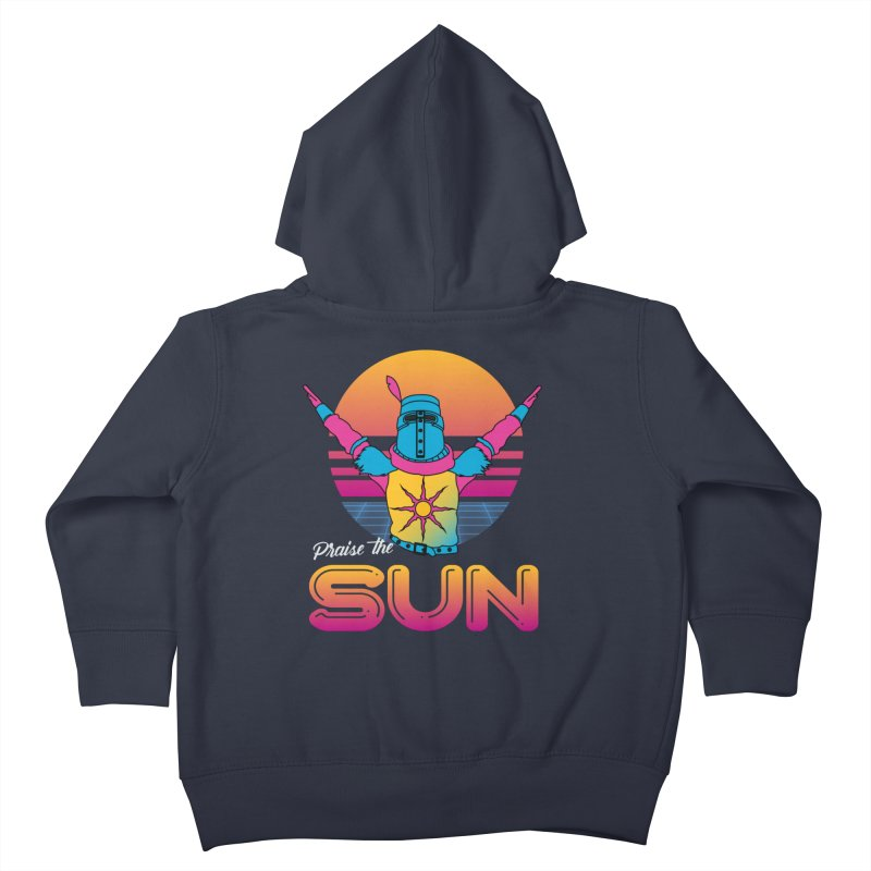 Praise the sun Kids Toddler Zip-Up Hoody by marpeach's Artist Shop