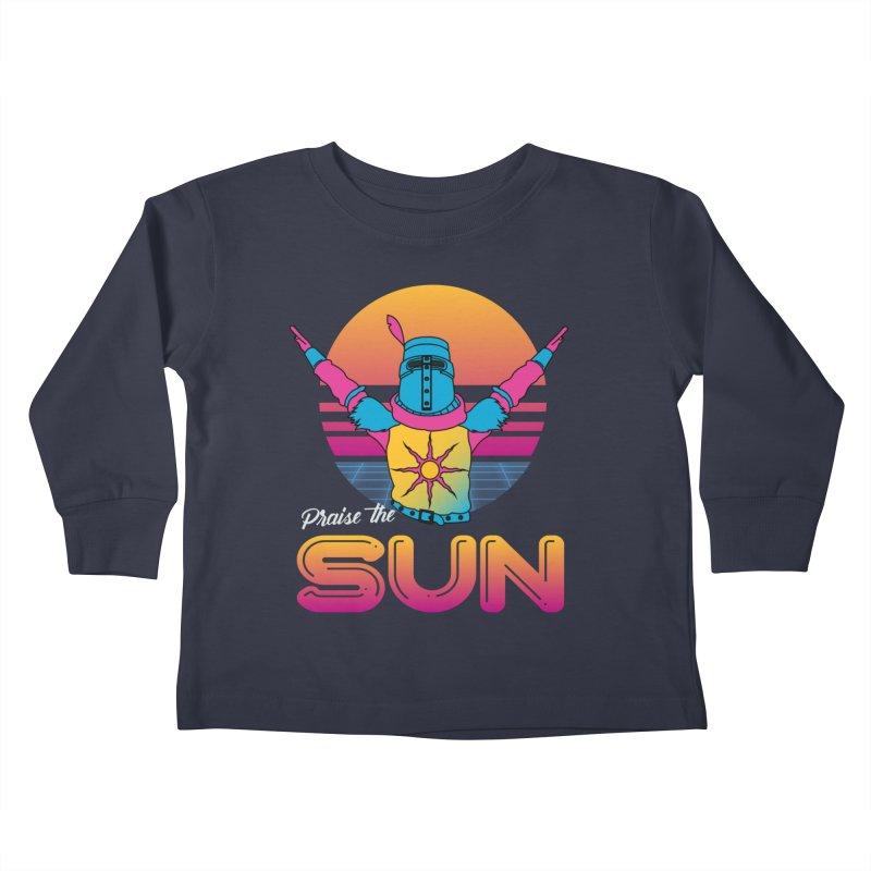 Praise the sun Kids Toddler Longsleeve T-Shirt by marpeach's Artist Shop