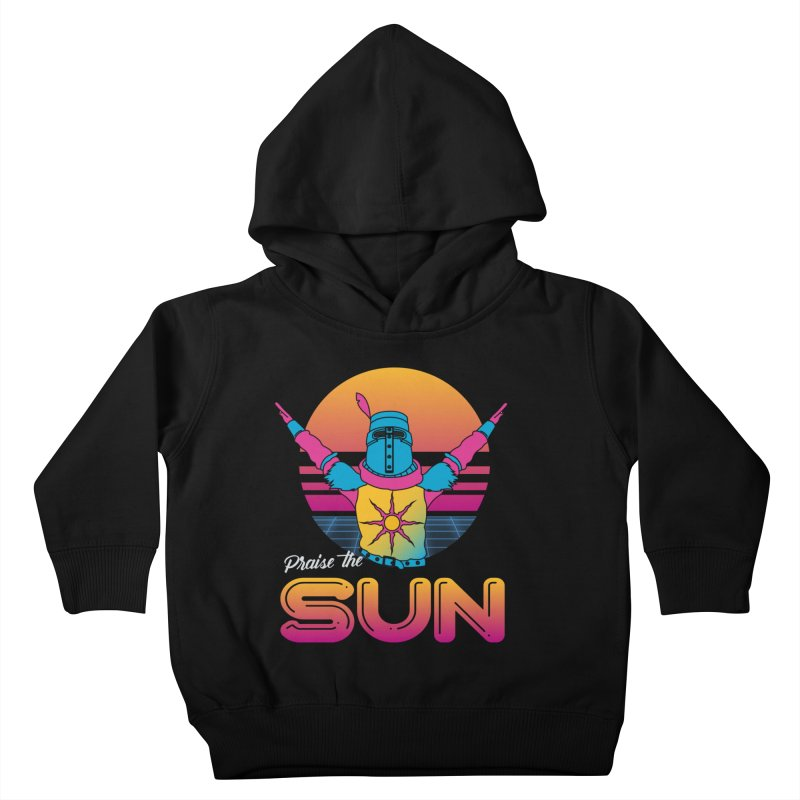 Praise the sun Kids Toddler Pullover Hoody by marpeach's Artist Shop