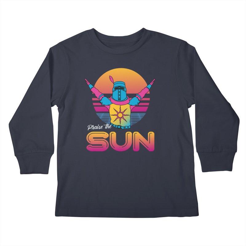Praise the sun Kids Longsleeve T-Shirt by marpeach's Artist Shop