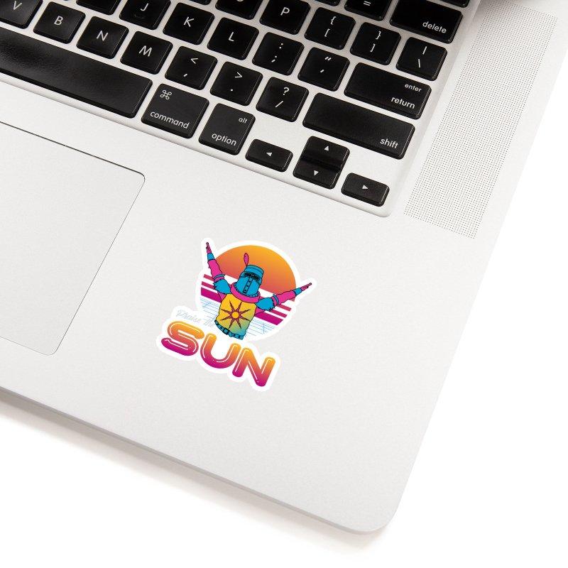 Praise the sun Accessories Sticker by marpeach's Artist Shop