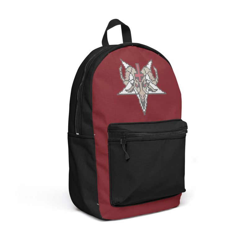 Pentagram cross stitching Accessories Backpack Bag by marpeach's Artist Shop