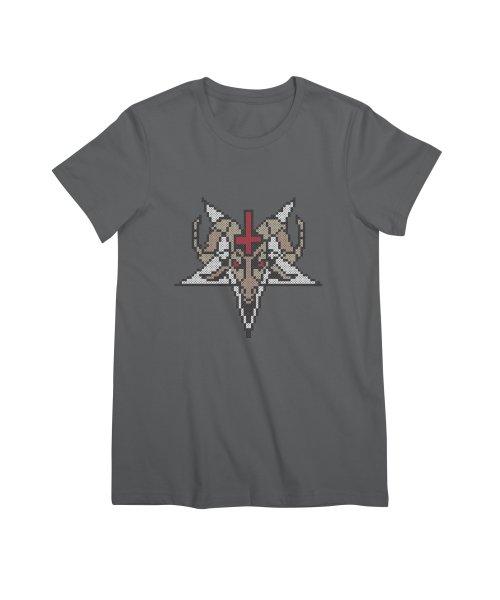Pentagram cross stitching
