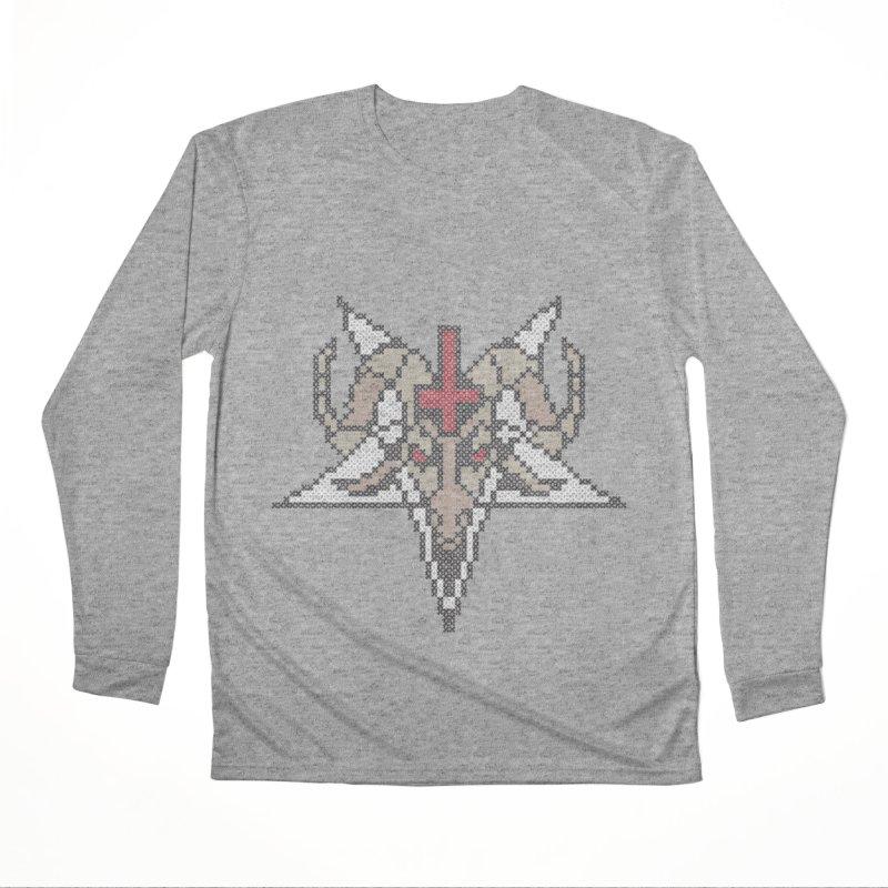 Pentagram cross stitching Women's Performance Unisex Longsleeve T-Shirt by marpeach's Artist Shop