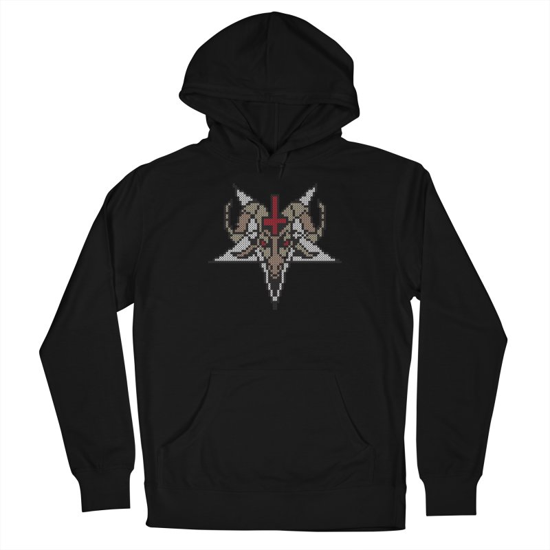 Pentagram cross stitching Men's Pullover Hoody by marpeach's Artist Shop