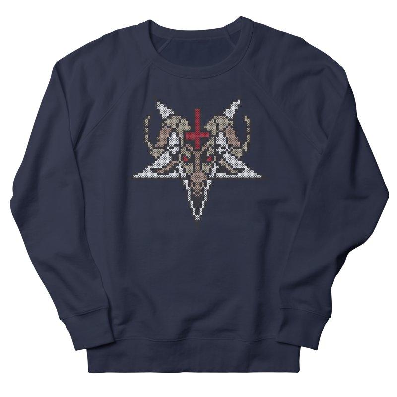 Pentagram cross stitching Men's Sweatshirt by marpeach's Artist Shop