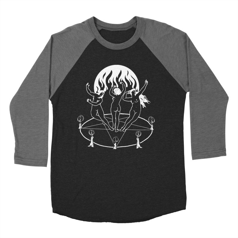 The VVitch Women's Baseball Triblend Longsleeve T-Shirt by marpeach's Artist Shop