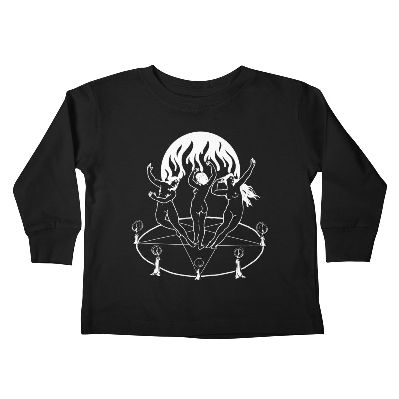 The VVitch Kids Toddler Longsleeve T-Shirt by marpeach's Artist Shop