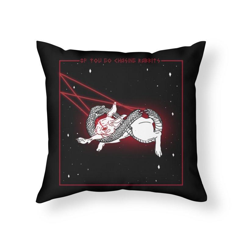 Bait Home Throw Pillow by marpeach's Artist Shop