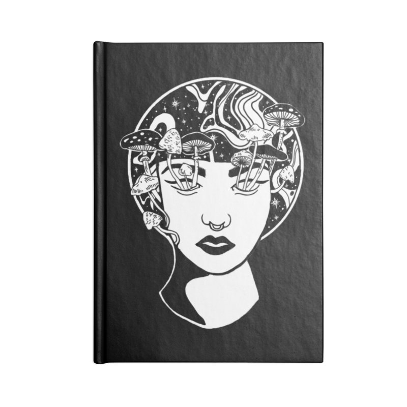 Mindless Accessories Lined Journal Notebook by marpeach's Artist Shop