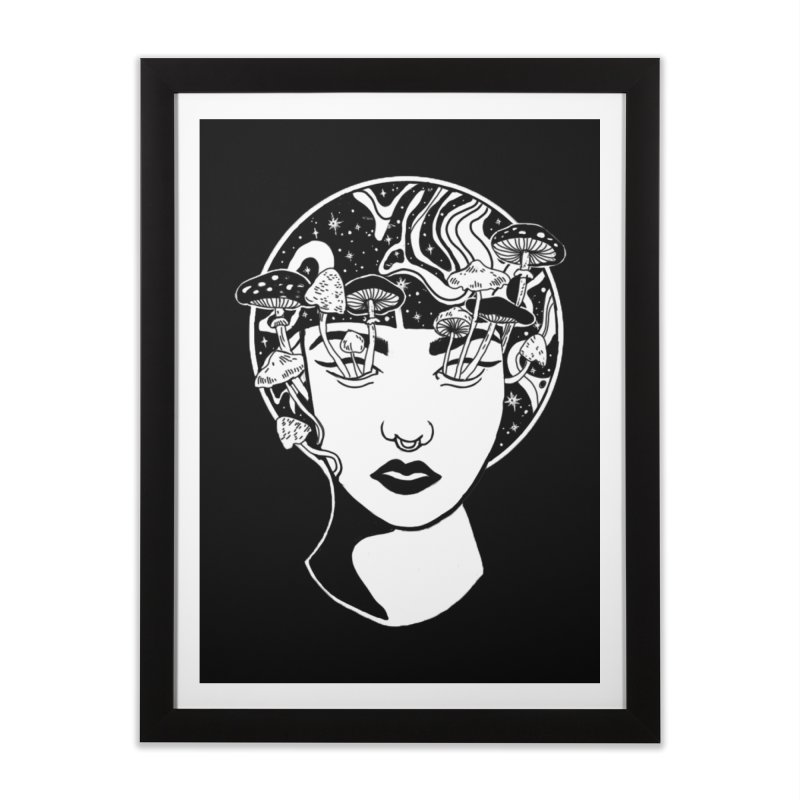 Mindless Home Framed Fine Art Print by marpeach's Artist Shop