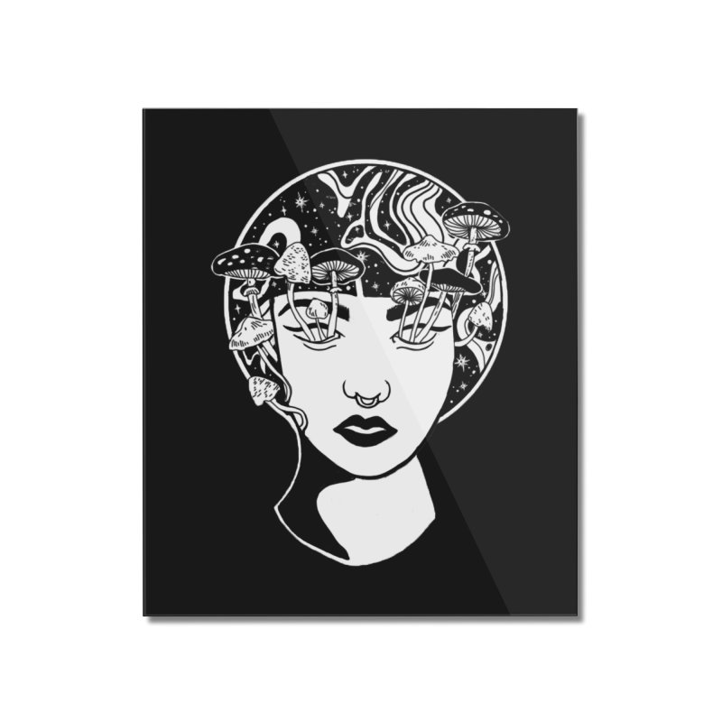 Mindless Home Mounted Acrylic Print by marpeach's Artist Shop