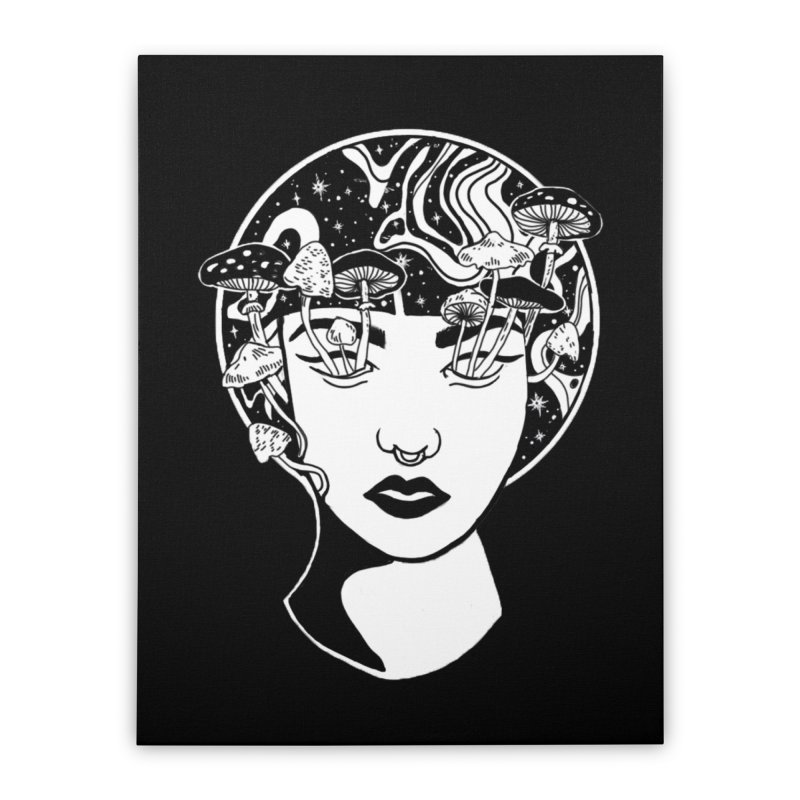 Mindless Home Stretched Canvas by marpeach's Artist Shop