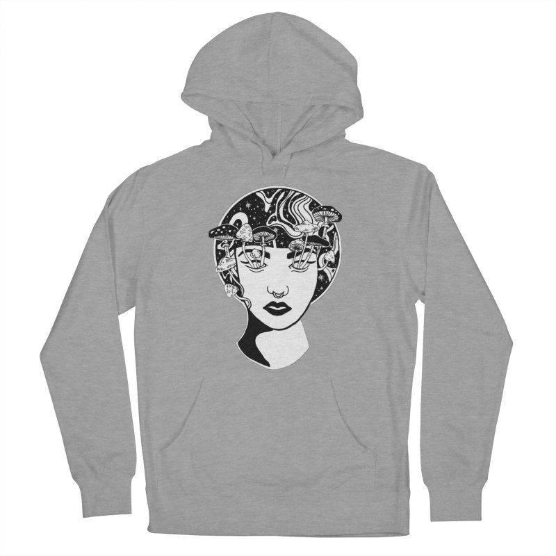 Mindless Women's French Terry Pullover Hoody by marpeach's Artist Shop