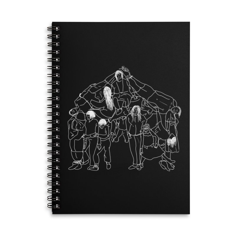The house that jack built Accessories Notebook by marpeach's Artist Shop