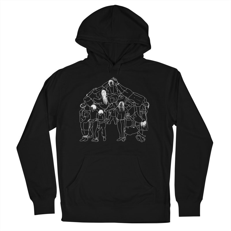 The house that jack built Men's French Terry Pullover Hoody by marpeach's Artist Shop