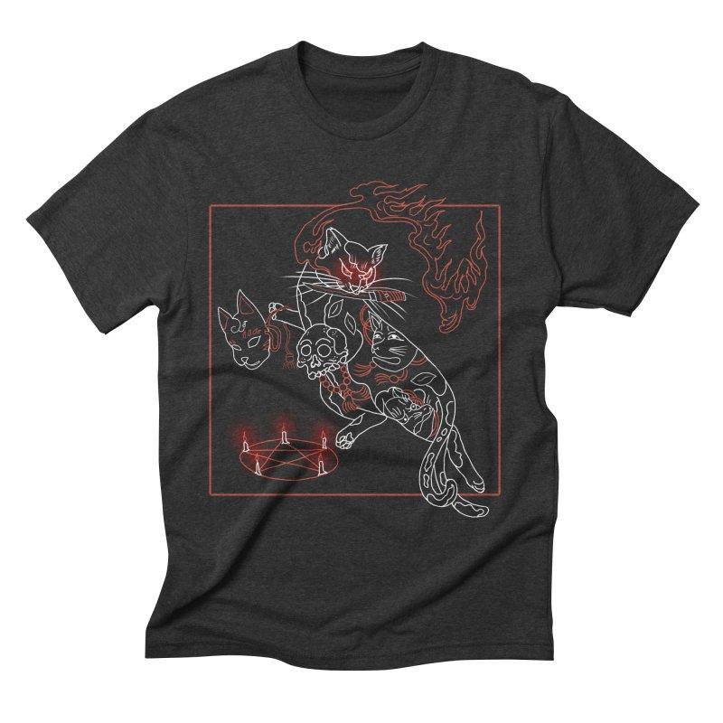 Nekomata (猫又) Men's T-Shirt by marpeach's Artist Shop