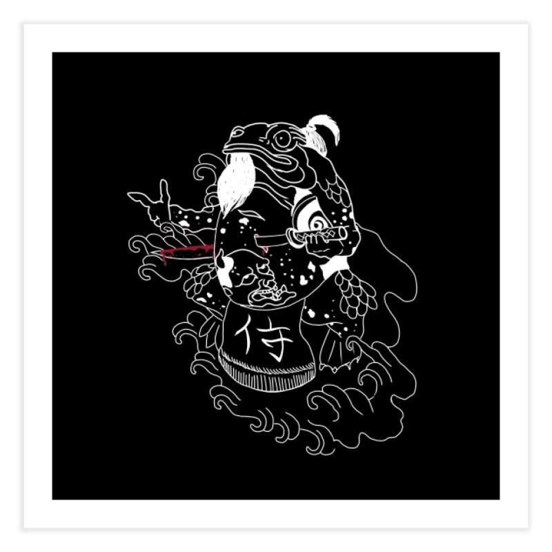 Toad 腹霧 Home Fine Art Print by marpeach's Artist Shop