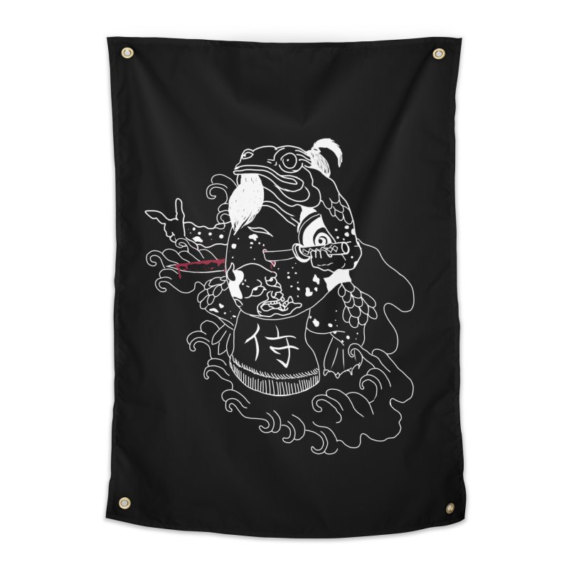 Toad 腹霧 Home Tapestry by marpeach's Artist Shop