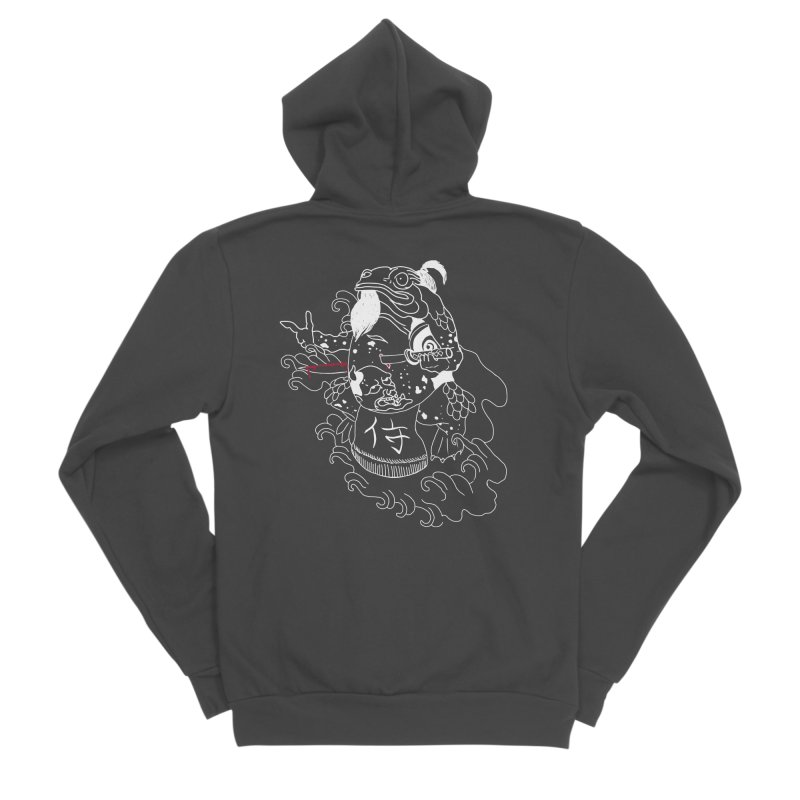Toad 腹霧 Women's Sponge Fleece Zip-Up Hoody by marpeach's Artist Shop