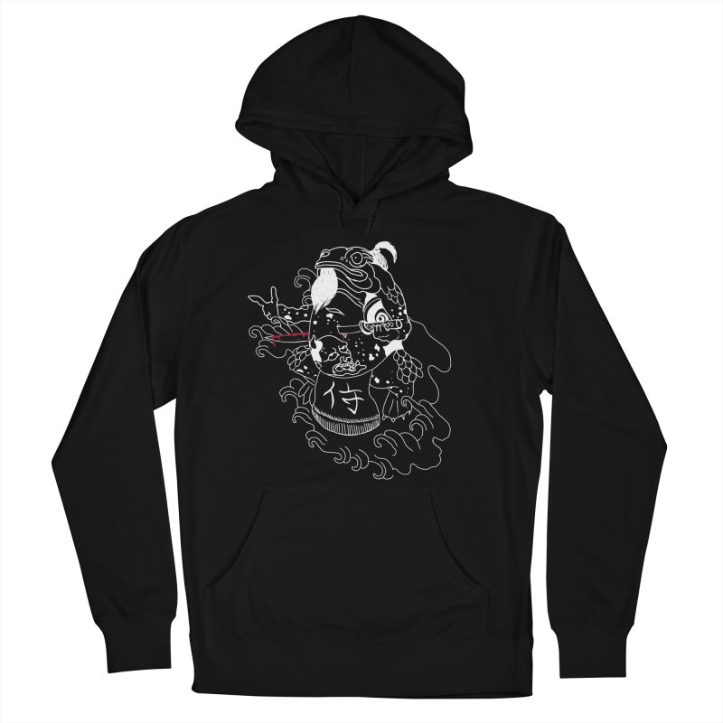 Toad 腹霧 Women's French Terry Pullover Hoody by marpeach's Artist Shop