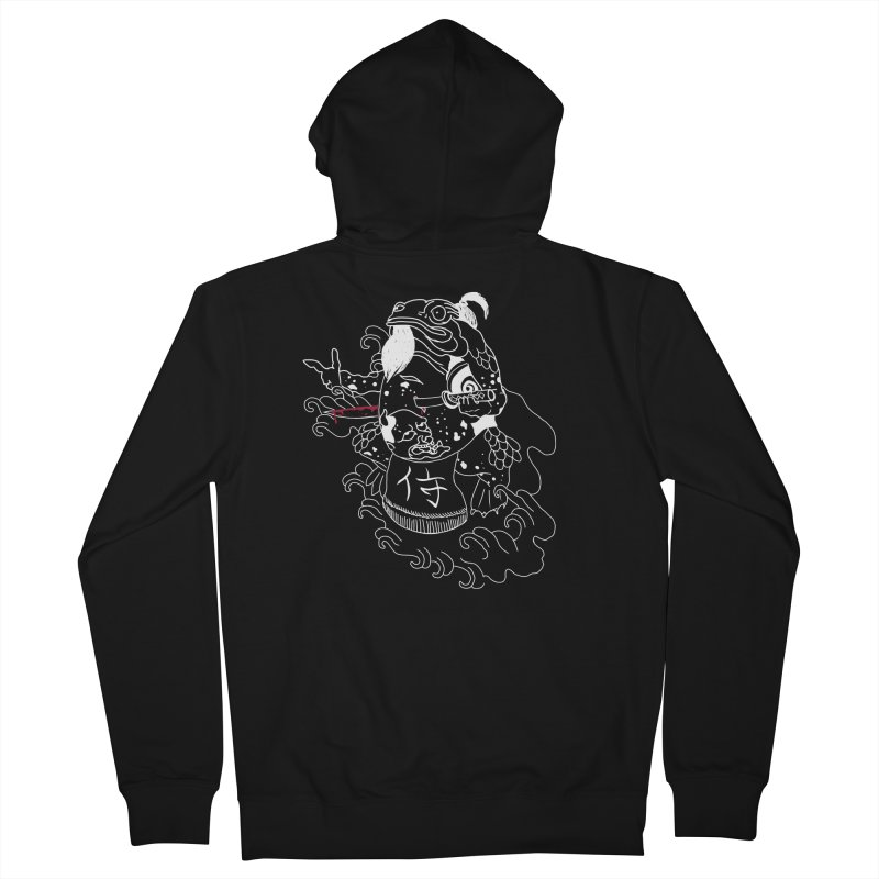 Toad 腹霧 Women's French Terry Zip-Up Hoody by marpeach's Artist Shop