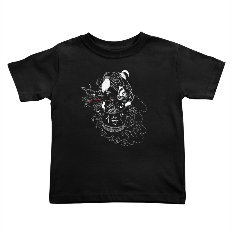 Toad 腹霧 Kids Toddler T-Shirt by marpeach's Artist Shop