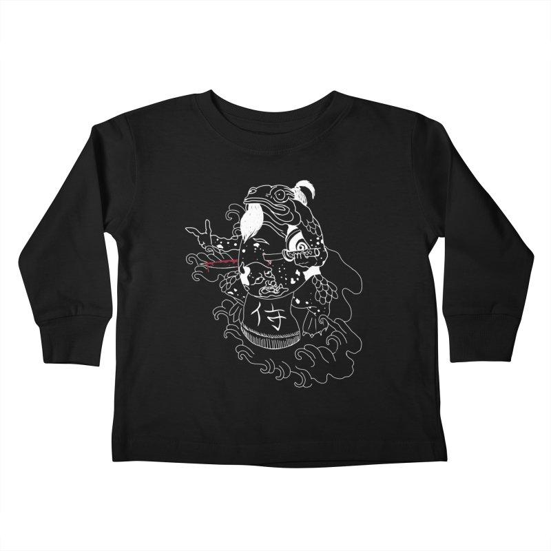 Toad 腹霧 Kids Toddler Longsleeve T-Shirt by marpeach's Artist Shop
