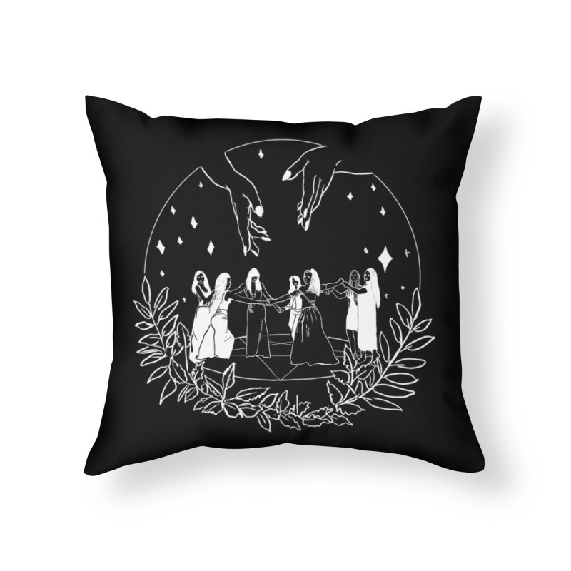 Coven Home Throw Pillow by marpeach's Artist Shop