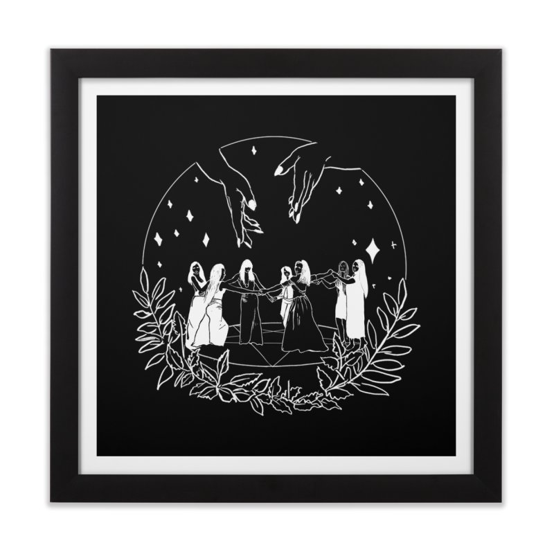 Coven Home Framed Fine Art Print by marpeach's Artist Shop