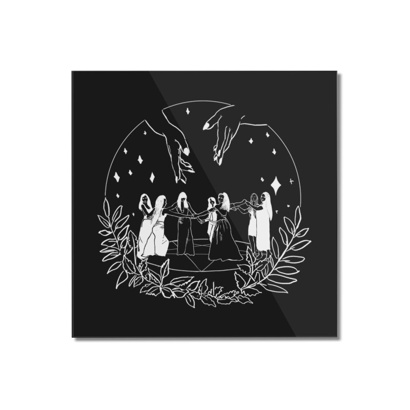 Coven Home Mounted Acrylic Print by marpeach's Artist Shop