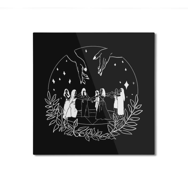 Coven Home Mounted Aluminum Print by marpeach's Artist Shop