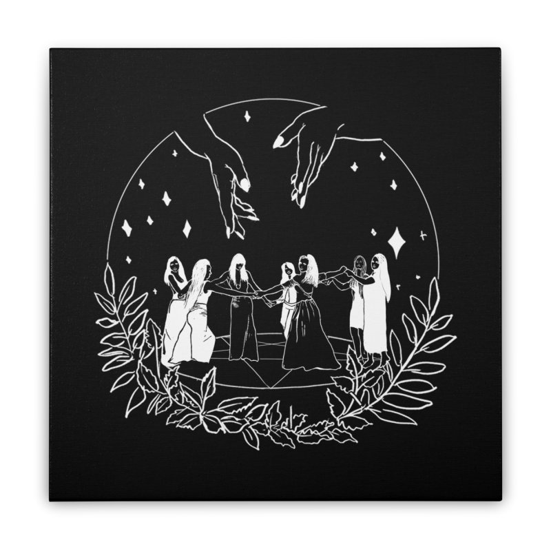 Coven Home Stretched Canvas by marpeach's Artist Shop