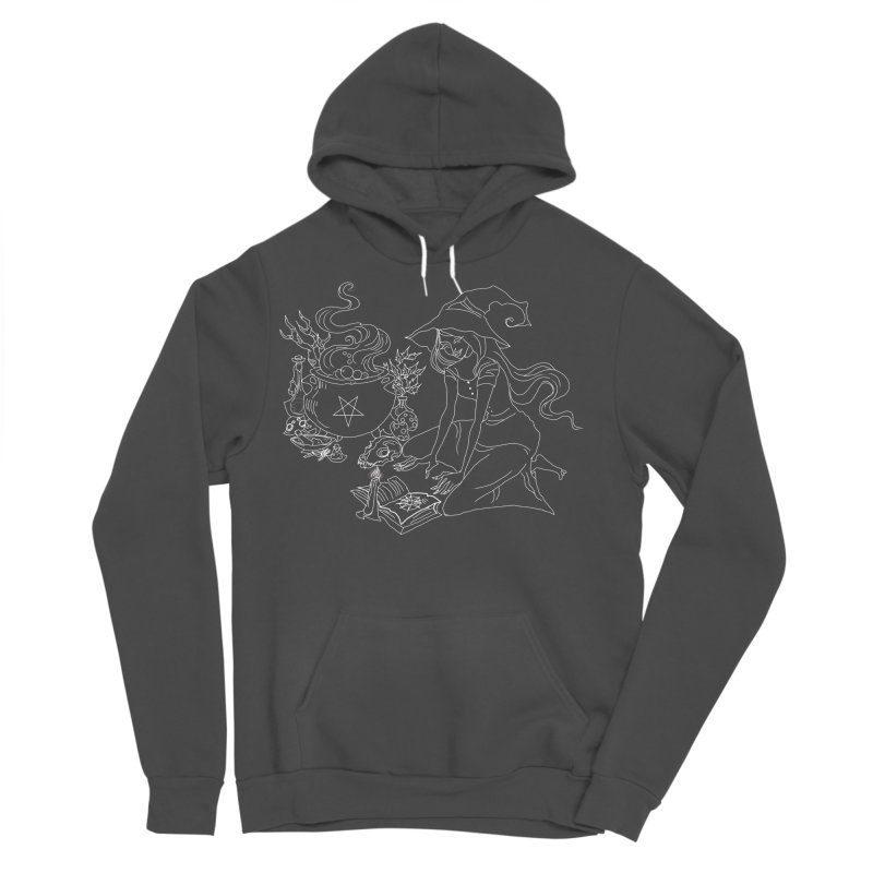 I put a spell on you Men's Sponge Fleece Pullover Hoody by marpeach's Artist Shop