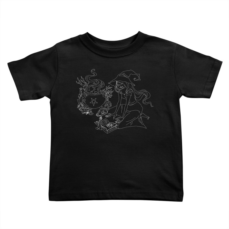 I put a spell on you Kids Toddler T-Shirt by marpeach's Artist Shop